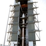 TDRS-L atop of the Atlas V rocket