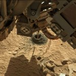 Sol 615, Mini-Drill up-close