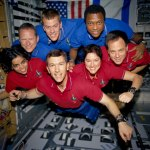 The-STS-107-crew-poses-for-an-in-flight-portrait