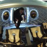Elon inside Dragon V2