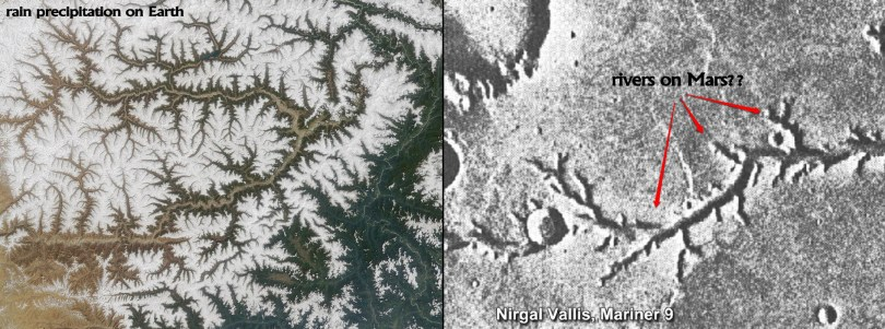 Yarlung-Tsangpo-river-Tibet-and-Nirgal-Vallis-on-Mars-rain-precipitation