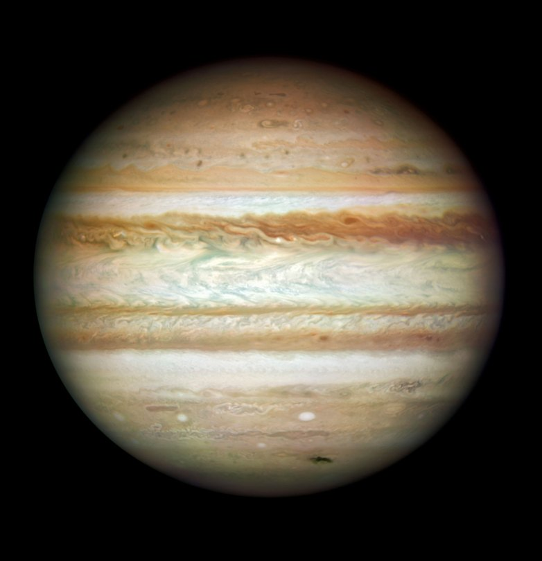 Jupiter-in-2009-Hubble-Space-Telescope