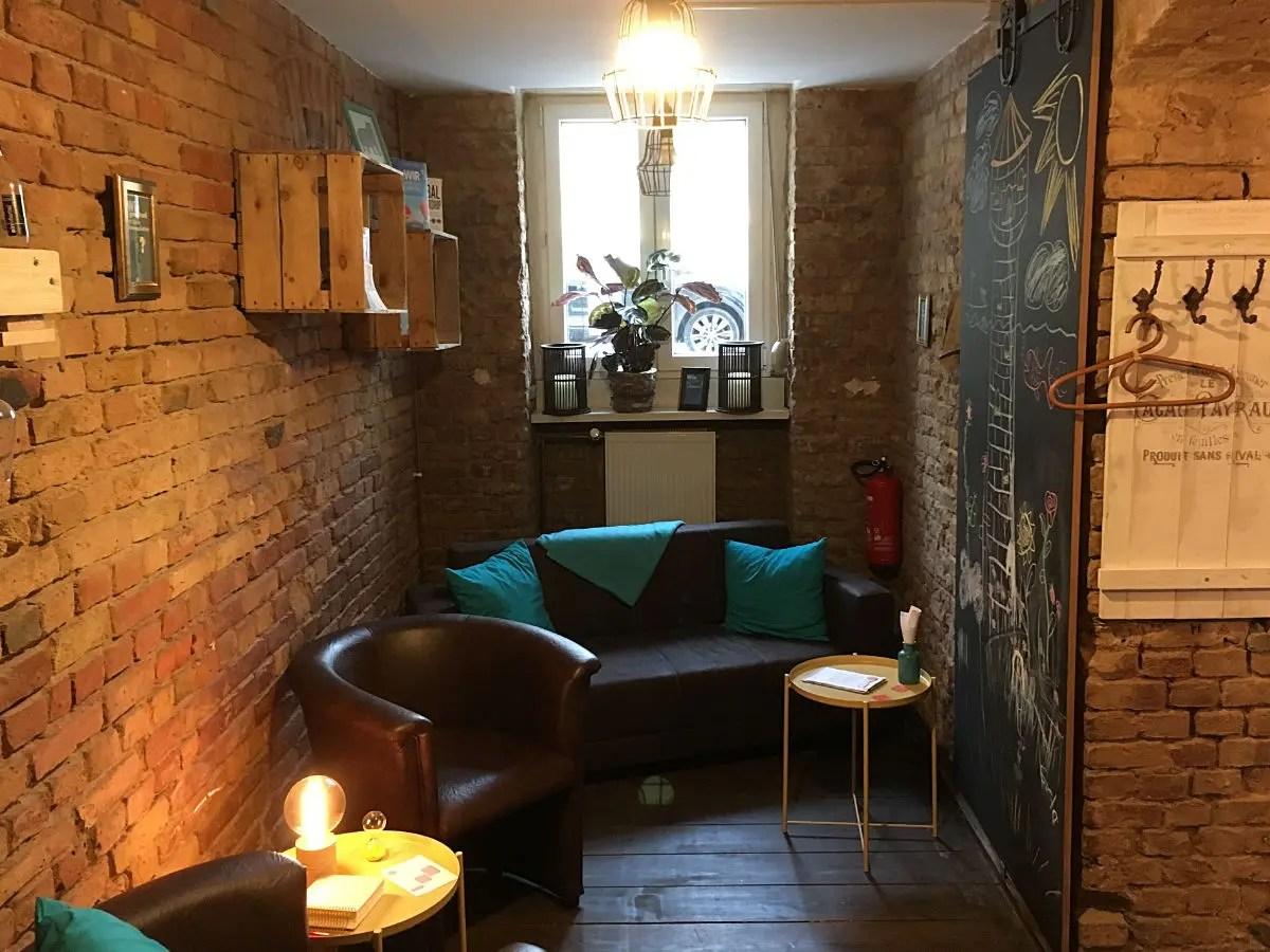 Café der Fragen - Workroom Wie mit Sofa