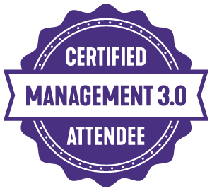 management 3.0 attendee badge