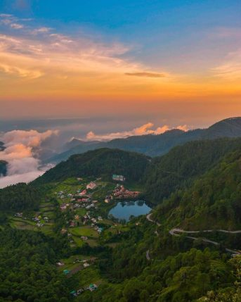 Khurpatal Lake Nainital