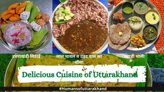 A delicious dishes of Uttarakhand
