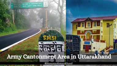 Army Cantonment Area in Uttarakhand