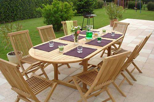 honfleur 8 seater outdoor furniture set