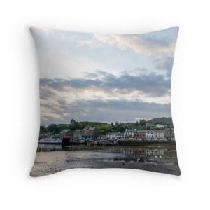 tarbert-sunrise-throw-pillow