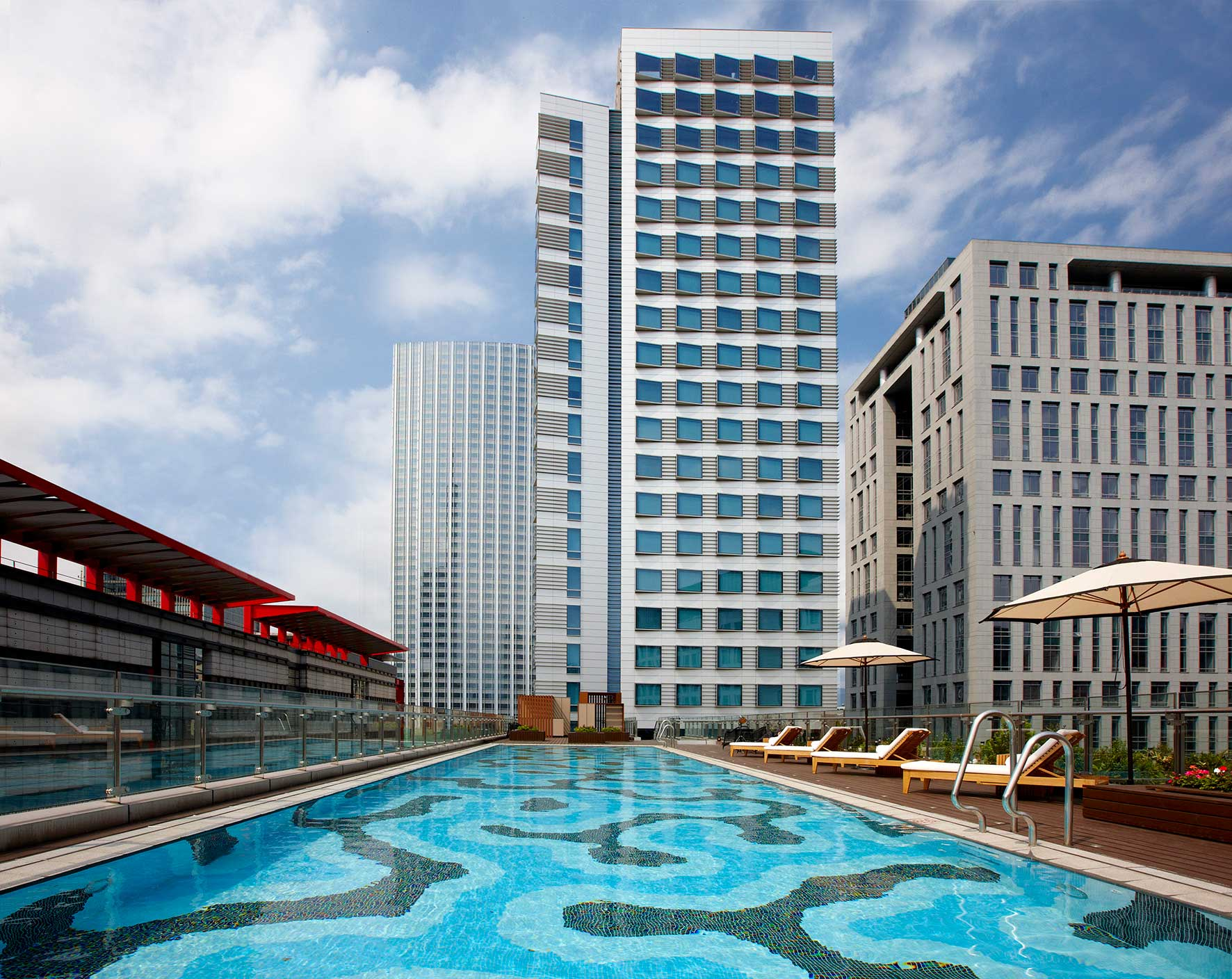 寒舍艾麗酒店 - 設施服務 - 戶外游泳池