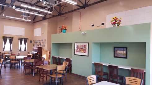 El Paso Rescue Mission Dining Hall