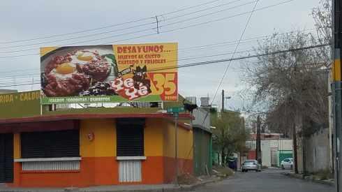 Breakfast spot Juarez Mexico