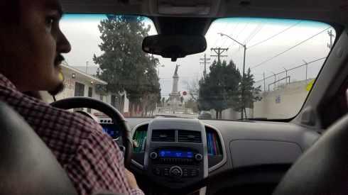 Uber Driver Juarez