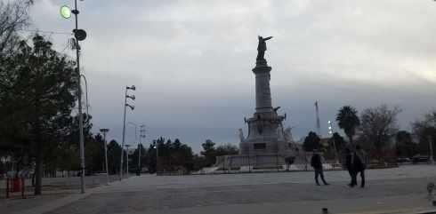Juarez Mexico statue
