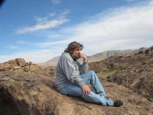 Hueco Tanks - The Thinker Nomad