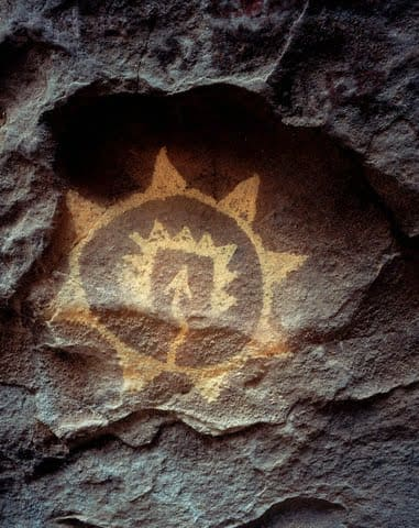 Pictographs - Native American Rock Painting