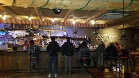 Bar Area La Kiva Underground Bar and Restaurant