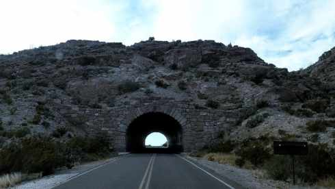 Big Bend National Park - Mountain Tunnel