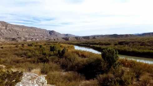 Boquillas Canyon Rio Grande River - National Park During Government Shutdown