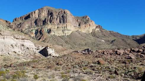 Chisos Basin Mountains - Chisos Basin During Government Shutdown