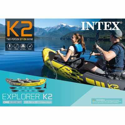 Intex Explorer K2 Kayak Box