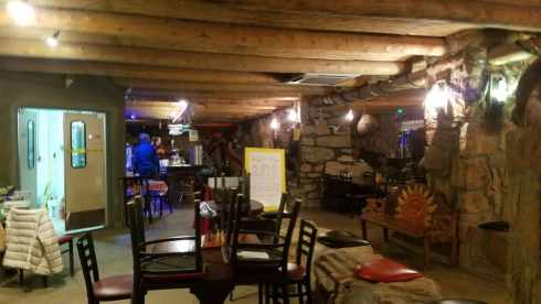 La Kiva Underground Bar in Terlingua Texas
