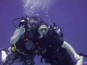 Scuba Diving - Cancun Mexico