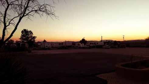Lower RV Lot at Marathon Motel and RV Park
