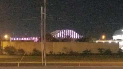 Corpus Christi Harbor Bridge View At Night