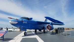 KA 3B Skywarrior USS Lexington