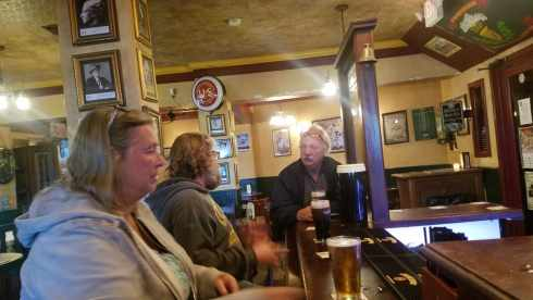 Jane AL Bob at Cassidys Irish Pub