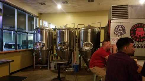 fermenters at Rebel Toad brewing Co - Corpus Christi