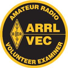 ARRL Volunteer Examiner badge