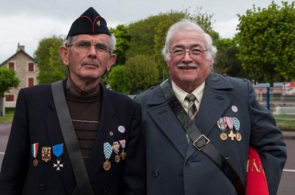 Raymond et Yvon Lebrun à Carteret (Manche)