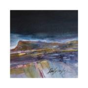 Morbihan (aquarelle, pastel sec)