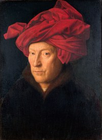 Jan Van Eyck - L'homme au turban rouge 1433