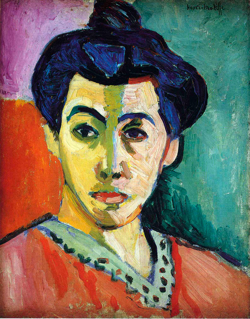 Henri Matisse - Madame Matisse à la raie verte 1905