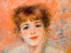 Pierre-Auguste Renoir - Jeanne Samary 1877