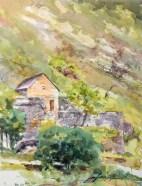 Cabanon, route de la Canourgue. La Malène.