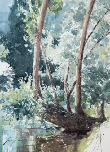 Aquarelle papier Arches - format 36x48 cm