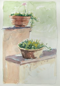 Vaucluse - Bedoin, chez Françoise et Pierre.