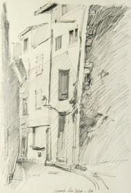 Vaucluse - Caromb, la rue Dorée.