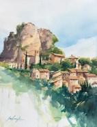 Vaucluse - Village de la Roque Alric.