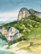 Vaucluse - Vers la Roque Alric.