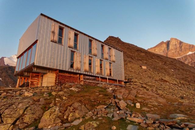 Rechts auf dem Bild unser heutiges Gipfelziel: das Barrhorn