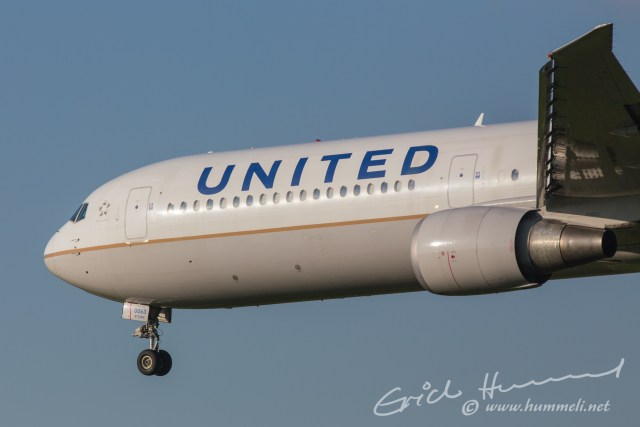 United Airlines B767 aus New York