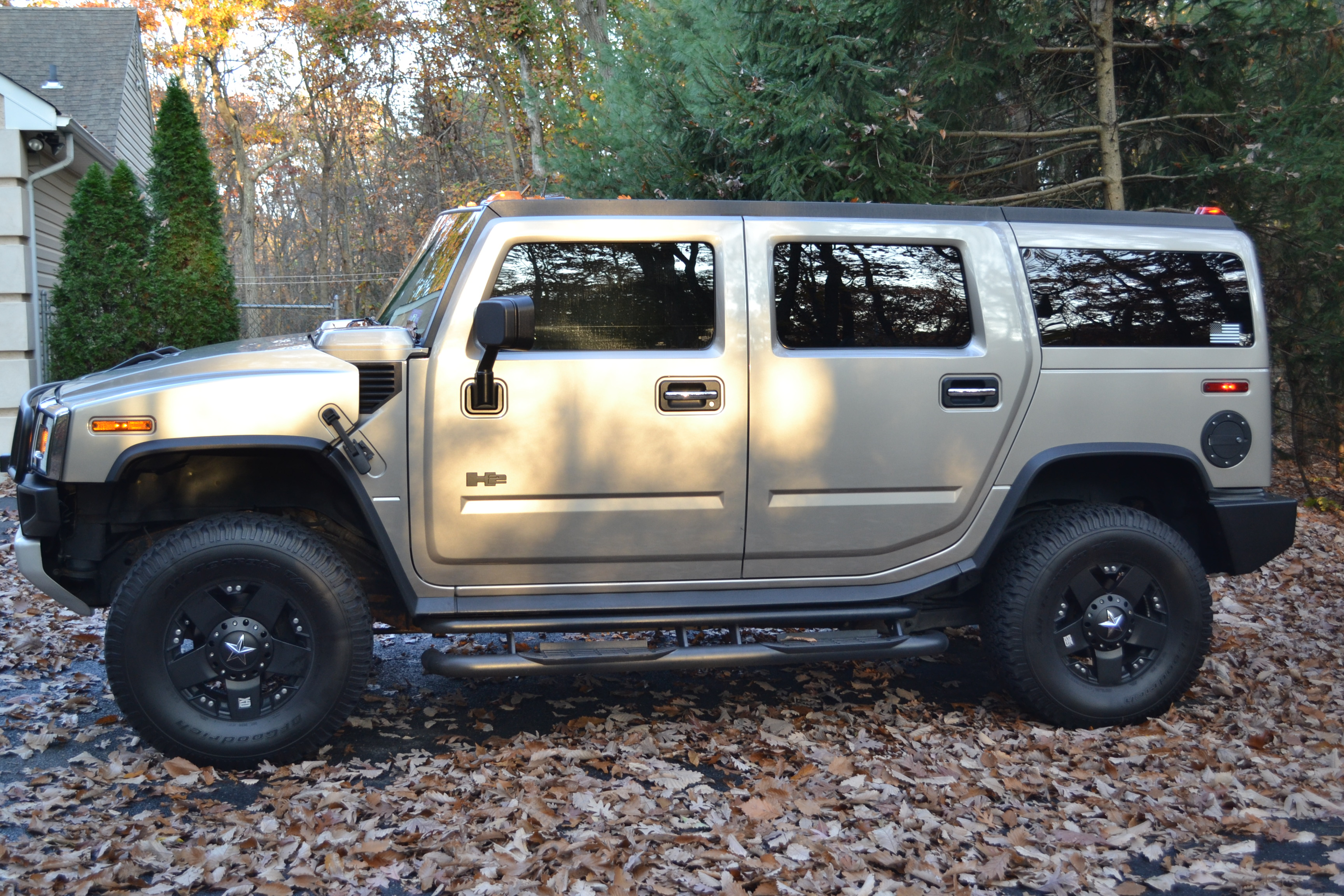 H2 ADVISE 4 LED HEADLIGHTS AND DRLs Page 2 Hummer Forums