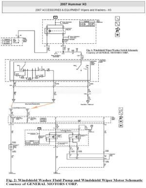 need 2009 h3 wiper switch wiring diagram  Hummer Forums