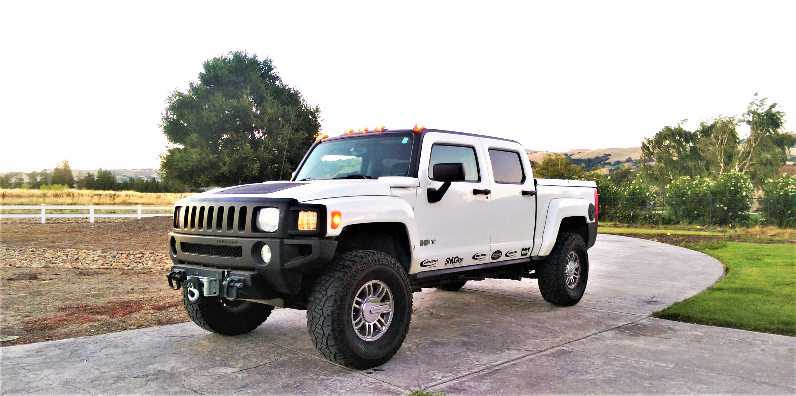 Hummer H3T Alpha Daughter s 1st Ride Hummer Forums Enthusiast