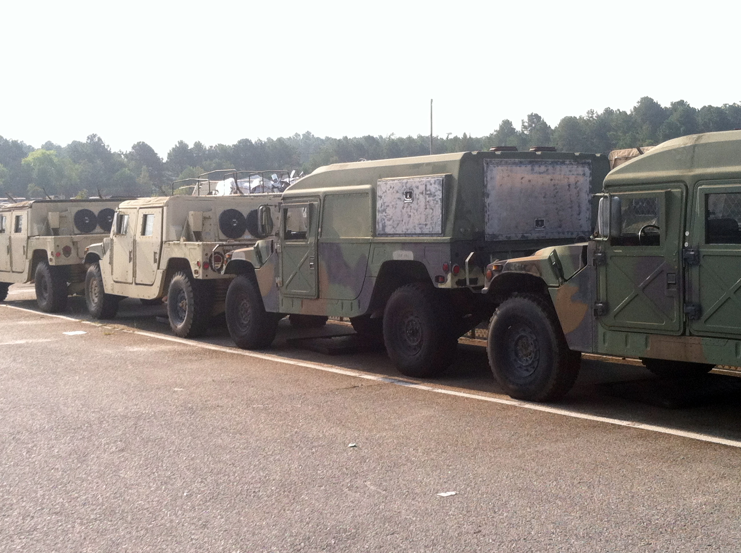 HMMWV Street Legal Titling Status by State